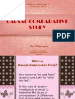 Lecture 7-Causal Comparative Study