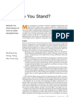 Where Do You Stand
