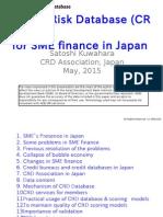 Credit Risk Database (CRD) for SME Finance in Japan
