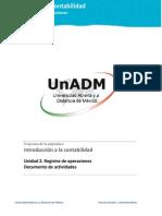 Unidad 2. Registro de Operaciones_Actividades