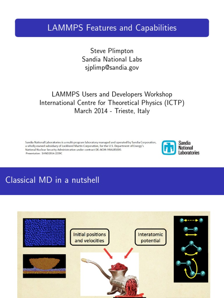 LAMMPS | Parallel Computing | Message Passing Interface