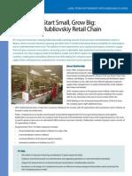 Rubliovskiy Retail Chain