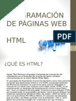 Programación HTML