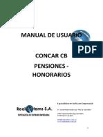 Manual Pensiones Honorarios