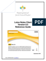 Lotus Notes Reference Guide