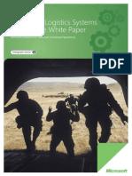 Military Logistics White Paper