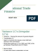 International Trade FinanceWeek3