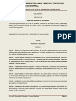 Lineamientos Para El Ejercicio y Control Del Servicio Notarial 20131