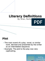 Literary Definitions