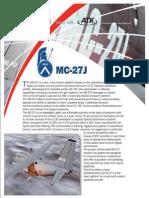 MC-27J Brochure 2013