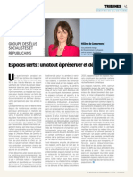 Tribune Hélène de Comarmond juin 2015