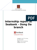 Seabank - Internship Report