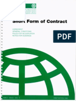 01. FIDIC Edisi 1999-Short Form of Contract (Green Book)