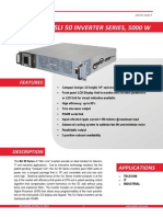 SLI50 Inverter Datasheet