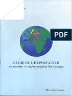 Guide Exportation