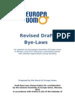draft bye-laws may 2015