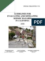 Evaluating-Mitigating Seismic Hazards California