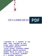 Limbile Europei PPT