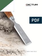 DICTUM Tool Catalogue 2015 2016