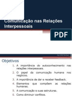Comunicacao Nas Relacoes Interpessoais-Aula 5 e 6