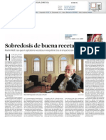 La Vanguardia avala el bestseller de Wolf