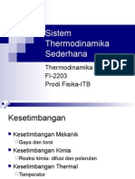 02 Sistem Thermodinamika Sederhana