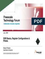 DDR Basics Frescale