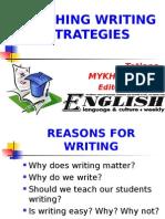 Teaching Writing Strategies