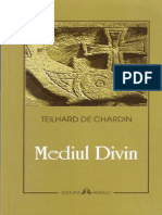 (196 A5) Pierre Teilhard de Chardin - Mediul Divin