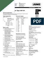 pressure transmitter jumo 4AP-30.pdf