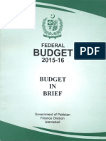 Budget in Brief 2015 16