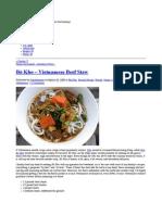 Bo Kho Recipe | Vietnamese Beef Stew | gas•tron•o•my
