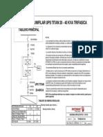 Diagramas Unifilares Nicomar TITAN 20- 40KVA