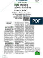 Intervista Corrado Passera a Il Gazzettino