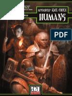 Advanced Race Codex - Humans