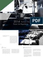 FIA F1 Power Unit Leaflet