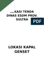 LOKASI TENDA