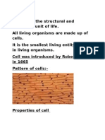 Cell:The Cell is the Structural and Functional