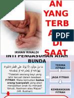 Materi Seminar Parenting 23 Mei 2015