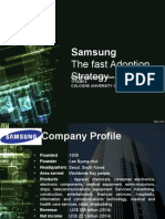 Samsung The fast adoption strategy