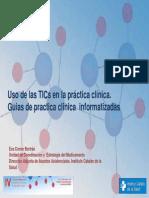 Tic Guias Practica Clinica Informatizadas
