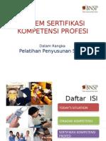 Sistem Sertifikasi Kompetensi Profesi