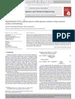 CO2 Capture Optimization Using RSM