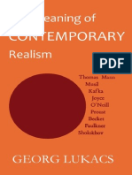 Lukacs Meaning of Contemporary Realism