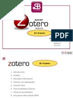 Como aprender Zotero en 10 pasos