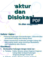 Fraktur Dan Dislokasi Introduction
