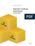Dual Glo Luciferase Assay System Protocol