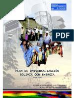 Plan de Universalización Bolivia Con Energía