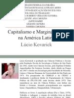 Capitalismo e Marginalidade