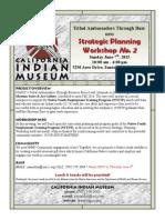 Strategic Planning Workshop No. 2
